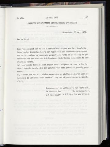 Raadsnotulen Heemstede 1976-05-26