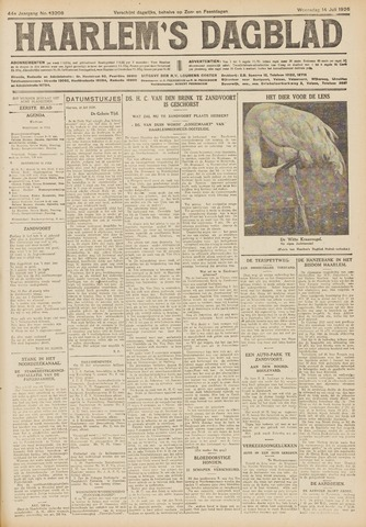 Haarlem's Dagblad 1926-07-14