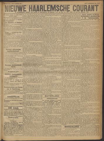 Nieuwe Haarlemsche Courant 1917-09-05