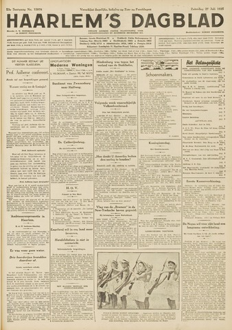 Haarlem's Dagblad 1935-07-27