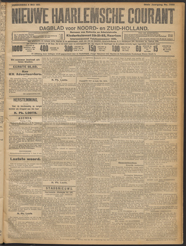 Nieuwe Haarlemsche Courant 1911-05-04