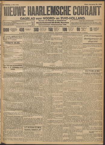 Nieuwe Haarlemsche Courant 1914-07-04