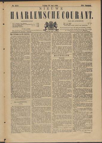 Nieuwe Haarlemsche Courant 1894-06-29