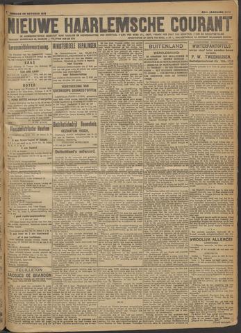 Nieuwe Haarlemsche Courant 1918-10-22