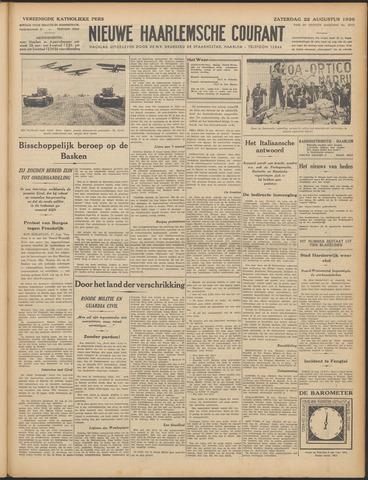 Nieuwe Haarlemsche Courant 1936-08-22