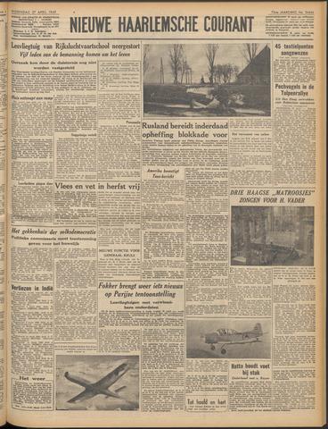 Nieuwe Haarlemsche Courant 1949-04-27