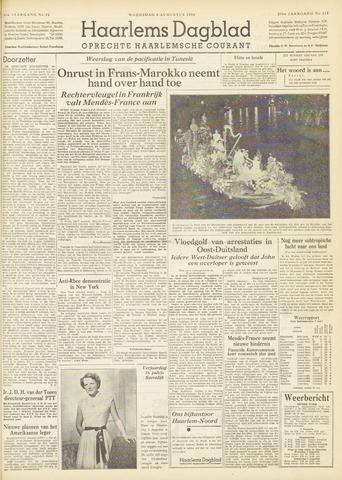 Haarlem's Dagblad 1954-08-04