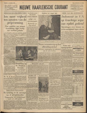 Nieuwe Haarlemsche Courant 1958-10-03