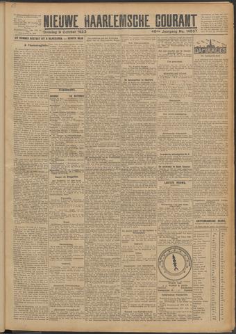 Nieuwe Haarlemsche Courant 1923-10-09