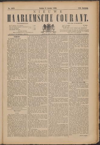 Nieuwe Haarlemsche Courant 1886-10-31