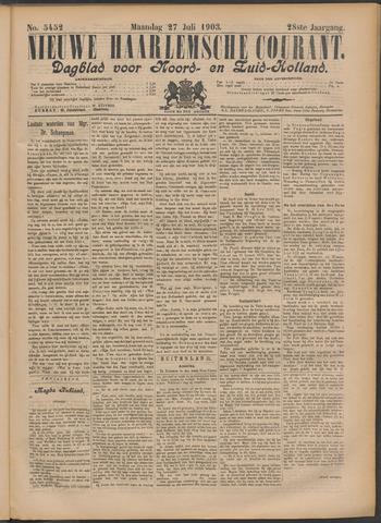 Nieuwe Haarlemsche Courant 1903-07-27