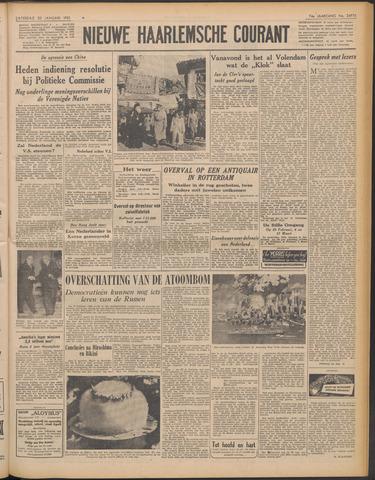 Nieuwe Haarlemsche Courant 1951-01-20