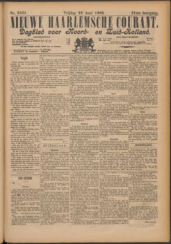Nieuwe Haarlemsche Courant 1906-06-22