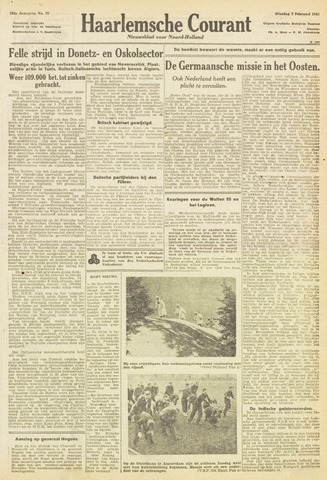 Haarlemsche Courant 1943-02-09