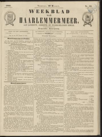Weekblad van Haarlemmermeer 1868-03-20