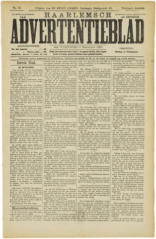 Haarlemsch Advertentieblad 1898-11-09