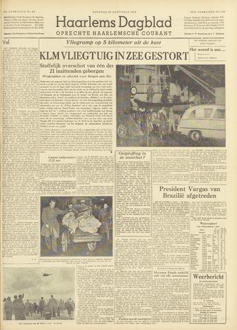 Haarlem's Dagblad 1954-08-24
