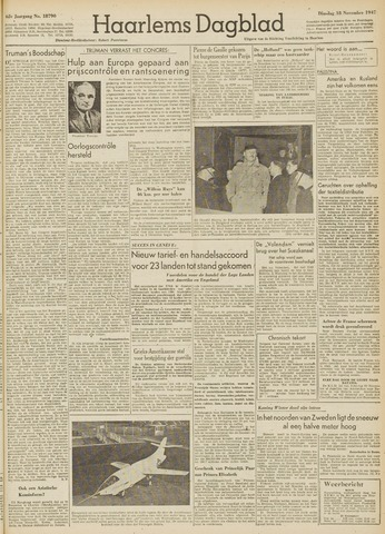 Haarlem's Dagblad 1947-11-18