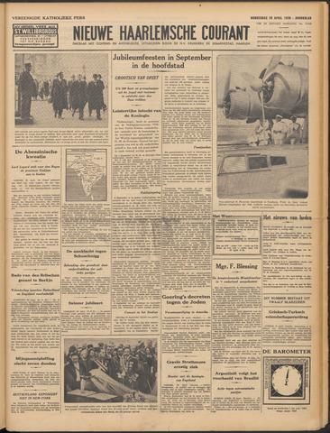 Nieuwe Haarlemsche Courant 1938-04-28