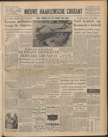 Nieuwe Haarlemsche Courant 1961-04-22