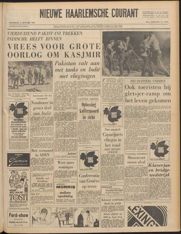 Nieuwe Haarlemsche Courant 1965-09-02