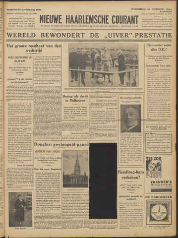 Nieuwe Haarlemsche Courant 1934-10-24