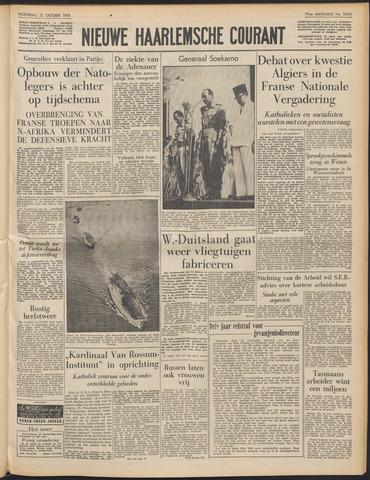 Nieuwe Haarlemsche Courant 1955-10-12