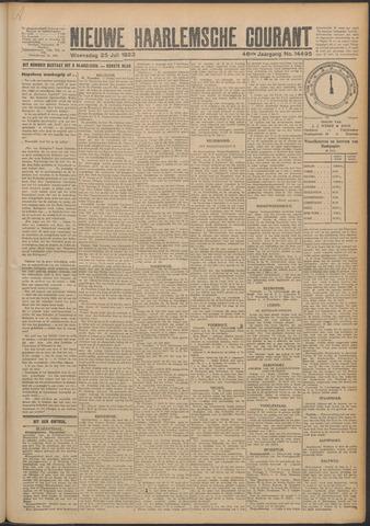 Nieuwe Haarlemsche Courant 1923-07-25