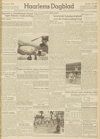 Haarlem's Dagblad 1947-05-07
