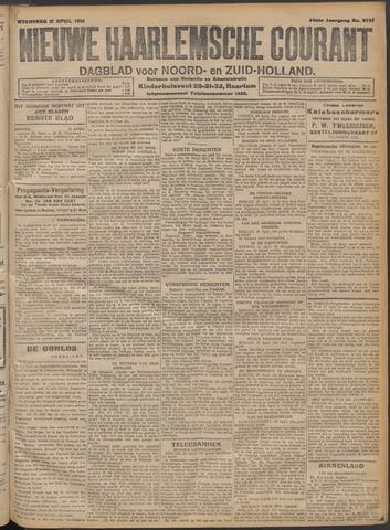 Nieuwe Haarlemsche Courant 1915-04-21