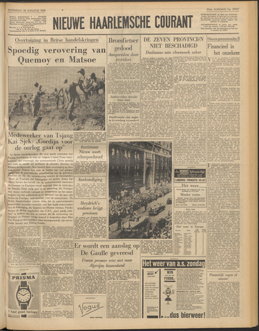 Nieuwe Haarlemsche Courant 1958-08-28