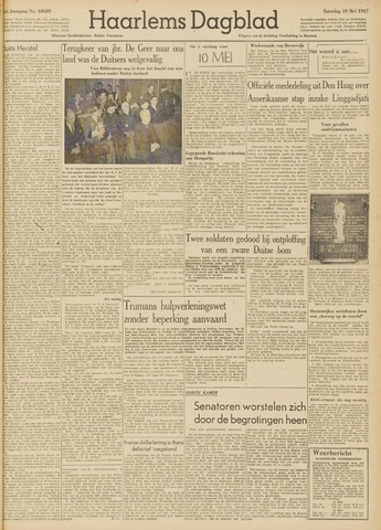Haarlem's Dagblad 1947-05-10