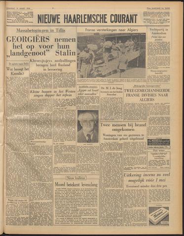 Nieuwe Haarlemsche Courant 1956-03-19