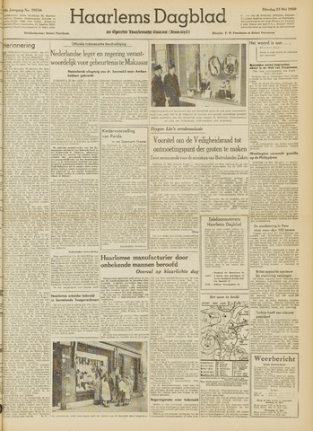 Haarlem's Dagblad 1950-05-23