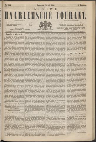 Nieuwe Haarlemsche Courant 1881-07-28