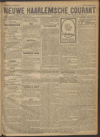 Nieuwe Haarlemsche Courant 1918-10-05