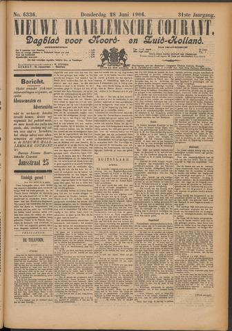 Nieuwe Haarlemsche Courant 1906-06-28