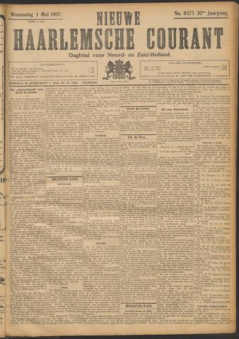 Nieuwe Haarlemsche Courant 1907-05-01