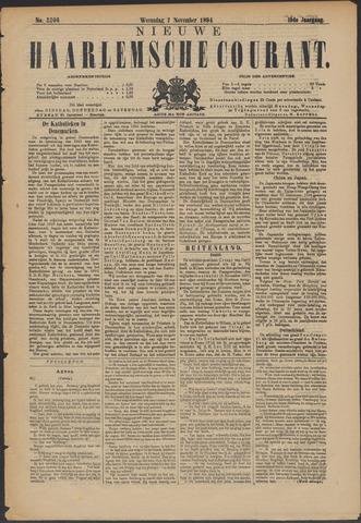 Nieuwe Haarlemsche Courant 1894-11-07