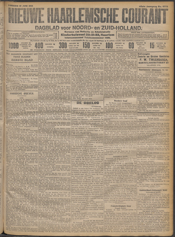 Nieuwe Haarlemsche Courant 1915-06-15