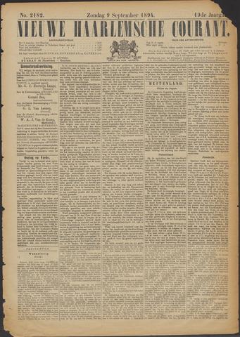 Nieuwe Haarlemsche Courant 1894-09-09