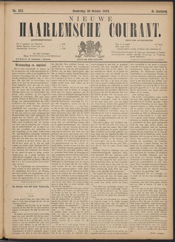 Nieuwe Haarlemsche Courant 1879-10-30