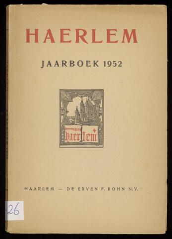 Jaarverslagen en Jaarboeken Vereniging Haerlem 1952