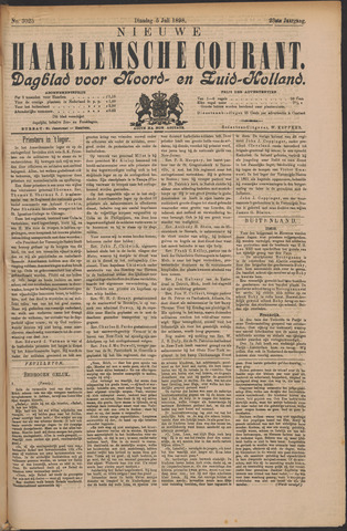 Nieuwe Haarlemsche Courant 1898-07-05