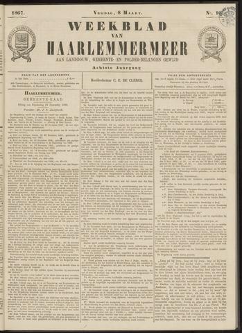 Weekblad van Haarlemmermeer 1867-03-08
