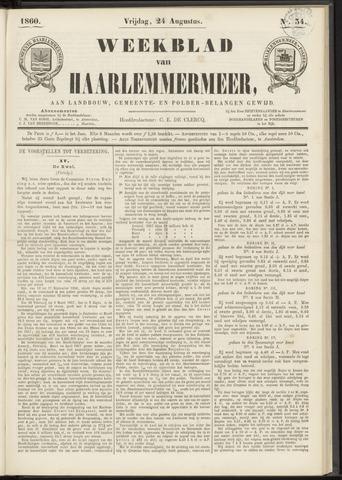 Weekblad van Haarlemmermeer 1860-08-24