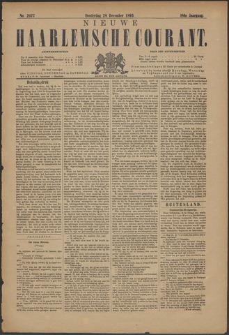 Nieuwe Haarlemsche Courant 1893-12-28