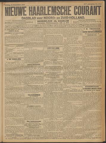 Nieuwe Haarlemsche Courant 1916-11-10