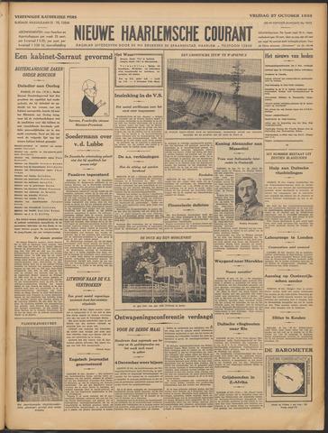 Nieuwe Haarlemsche Courant 1933-10-27