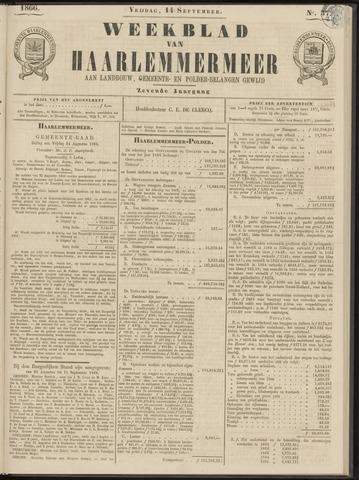 Weekblad van Haarlemmermeer 1866-09-14